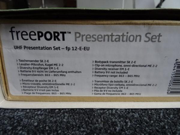 sennheiser freeport presentation set - atelier occazik