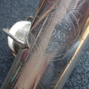 Saxophone CG Conn C melody - atelier occazik